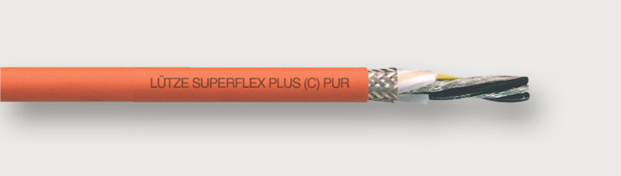 111420 - LÜTZE SUPERFLEX® PLUS M (C) PUR SERVO 0.6/1 kV High Flexing Motor Cable for Siemens and other systems For highest requirements