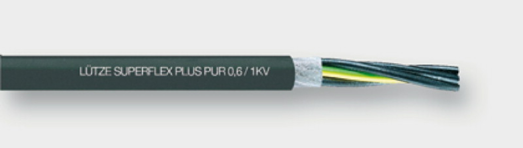 111429 - LÜTZE SUPERFLEX® PLUS M PUR 0.6/1 kV Motor/energy supply cable For highest requirements
