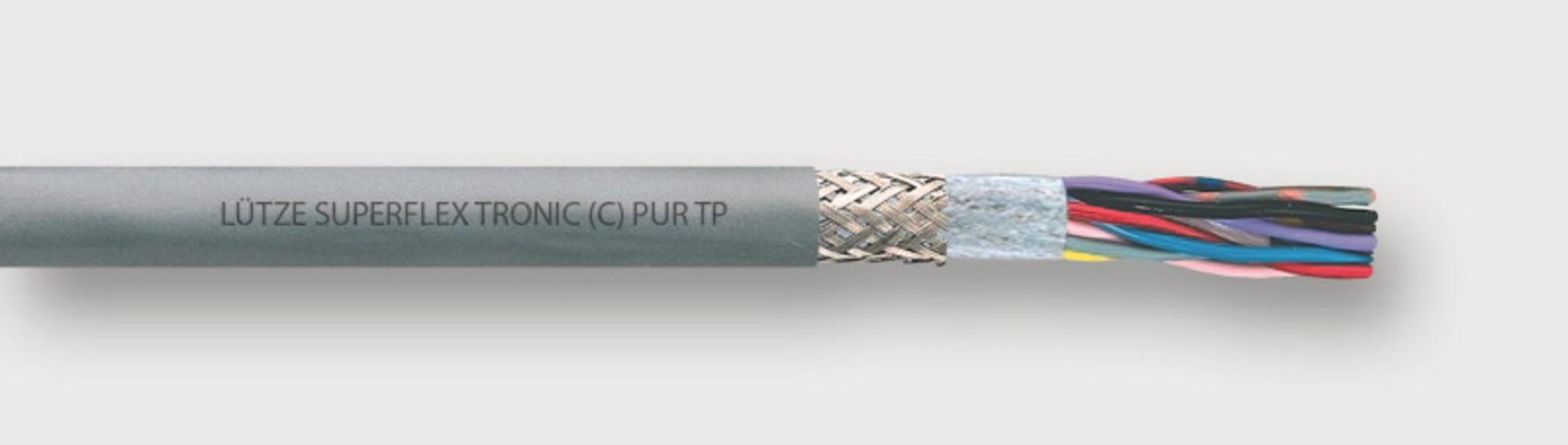 117191 - LÜTZE SUPERFLEX® TRONIC (C) PUR TP Shielded electronic ...