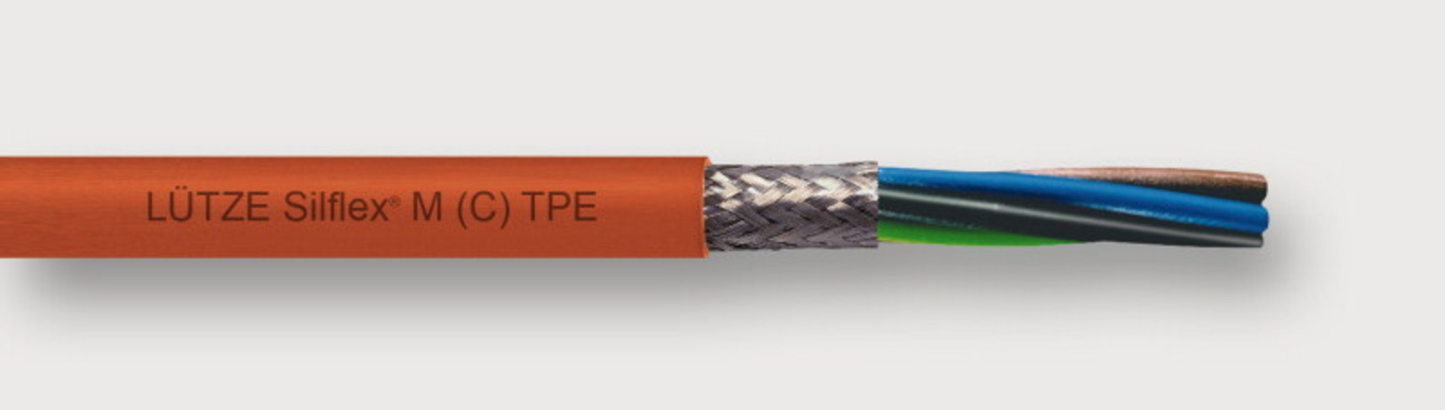 A3171004 - LÜTZE SILFLEX® M (C) TPE POWER TRAY CABLE Flexible Motor Cable for Allen-Bradley and other systems