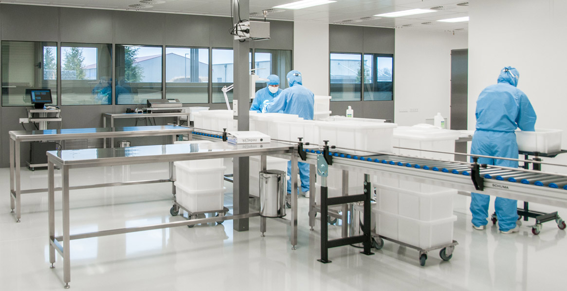 Control cabinet compact solution for clean rooms - Friedrich Lütze GmbH